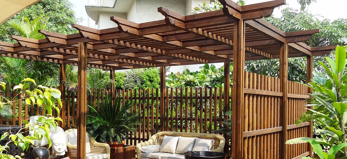 Best Wooden Pergola In India Pergola Importer In India Anika Global